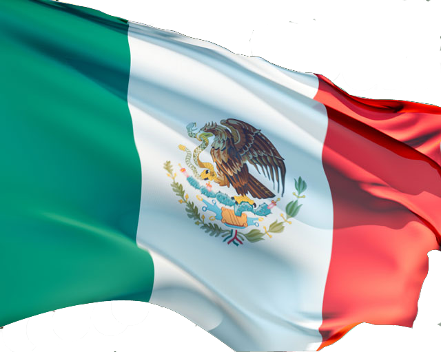 Mexico flag png. Transparent images all