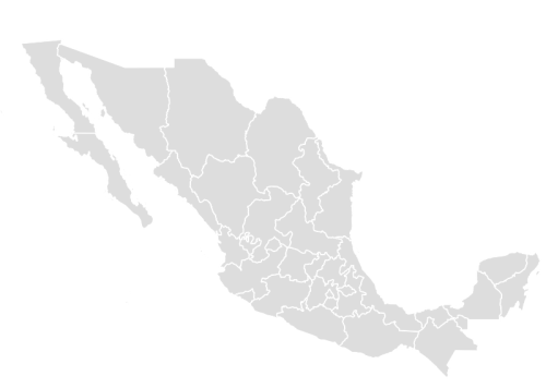 Mexico map outline png. Paint color maps with