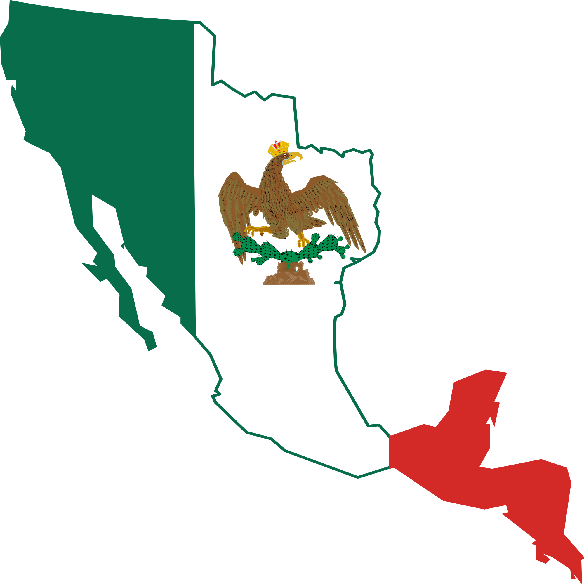 Mexico map outline png. File flag of the