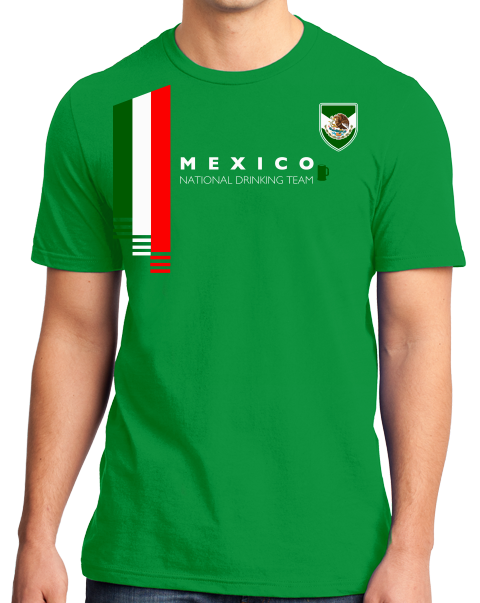 Mexico soccer jersey png. National drinking team mexican