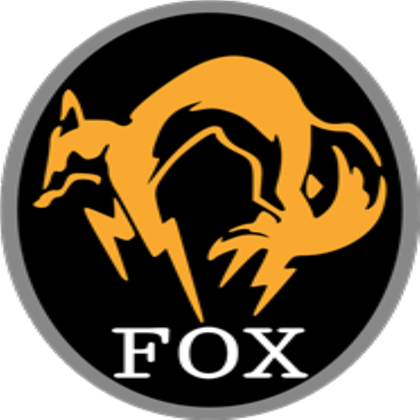 Mgs fox logo png. Transparent from solidsnake roblox