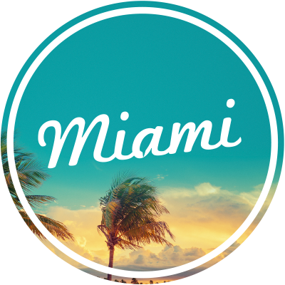 Miami florida logo png. January flights deals