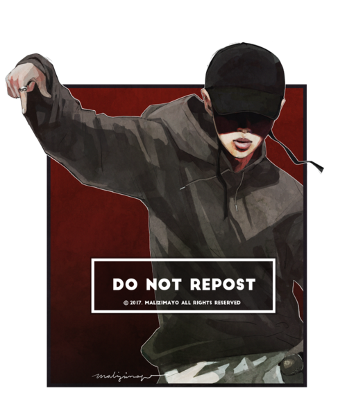 Mic drop png. Namjoon uploaded by ana