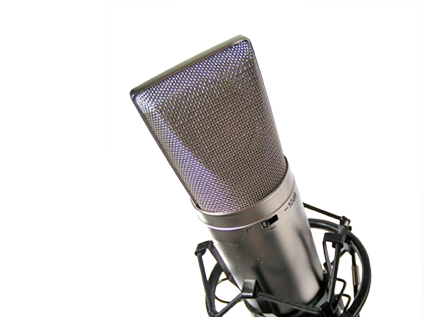 Mic in recording booth png. About us media sound