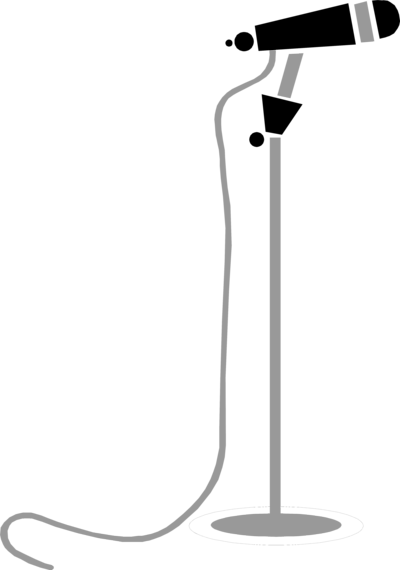 Mic on stand png. Microphone transparent pictures free