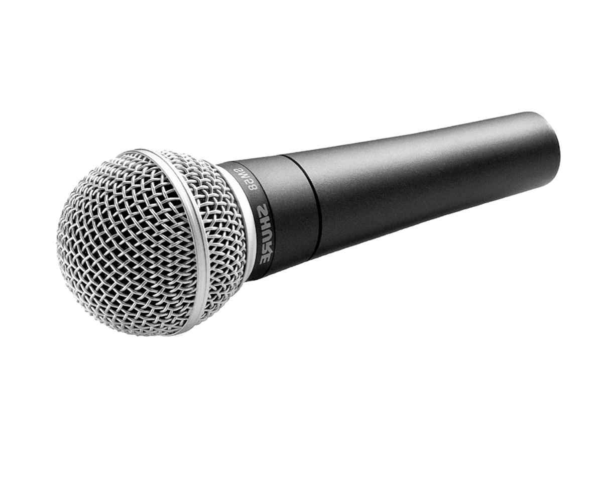 Mic with cord png. Wireless shure sm y