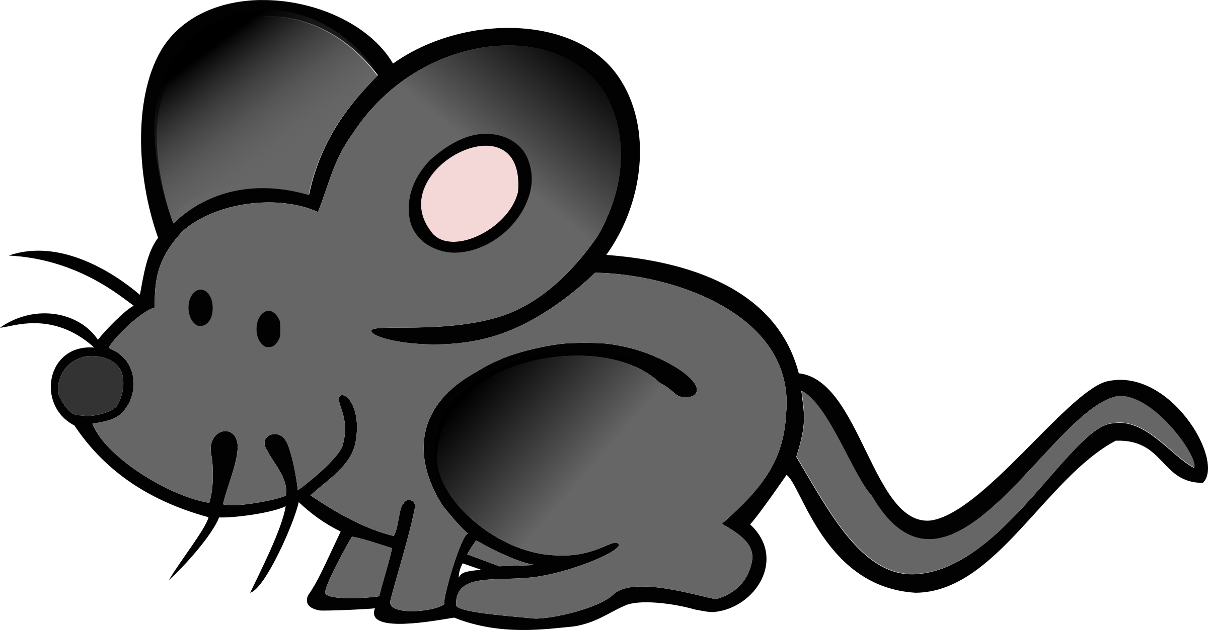 Mouse clip big. Cartoon image group clipart
