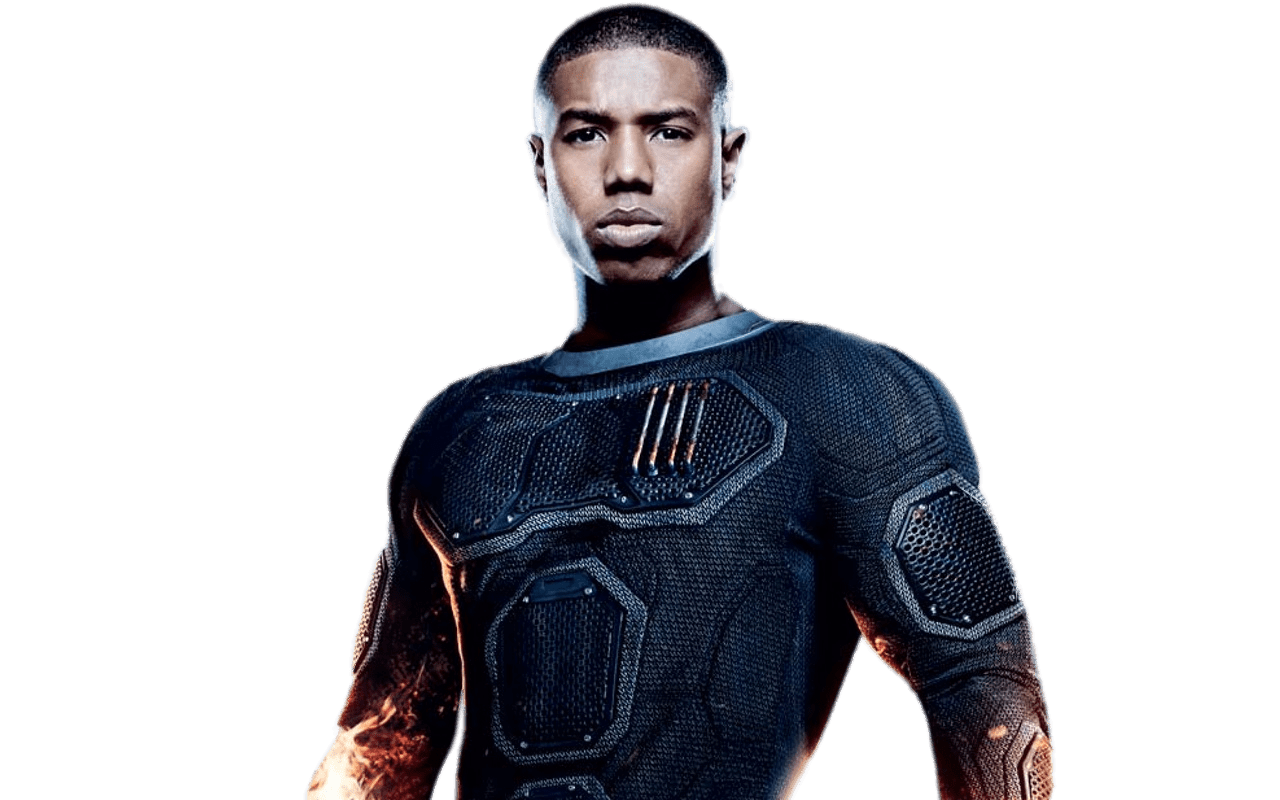 Michael b jordan png. Black panther transparent stickpng