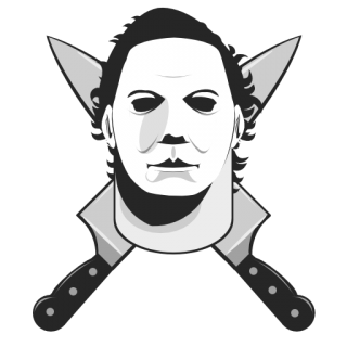 Michael emblems for gta. Pinhead drawing mike myers halloween picture stock