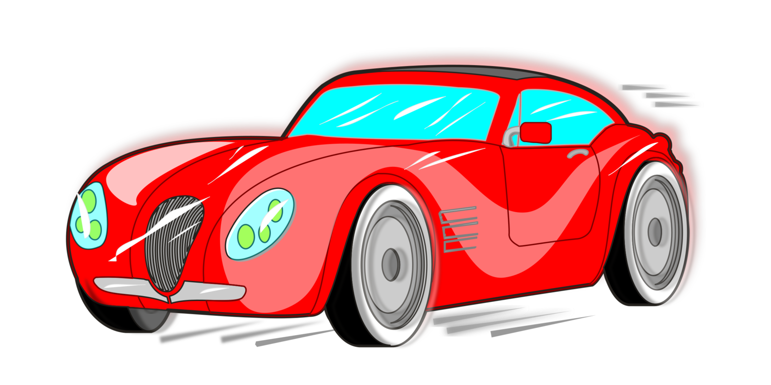 Classic clipart red classic car. Sports fiat automobiles free