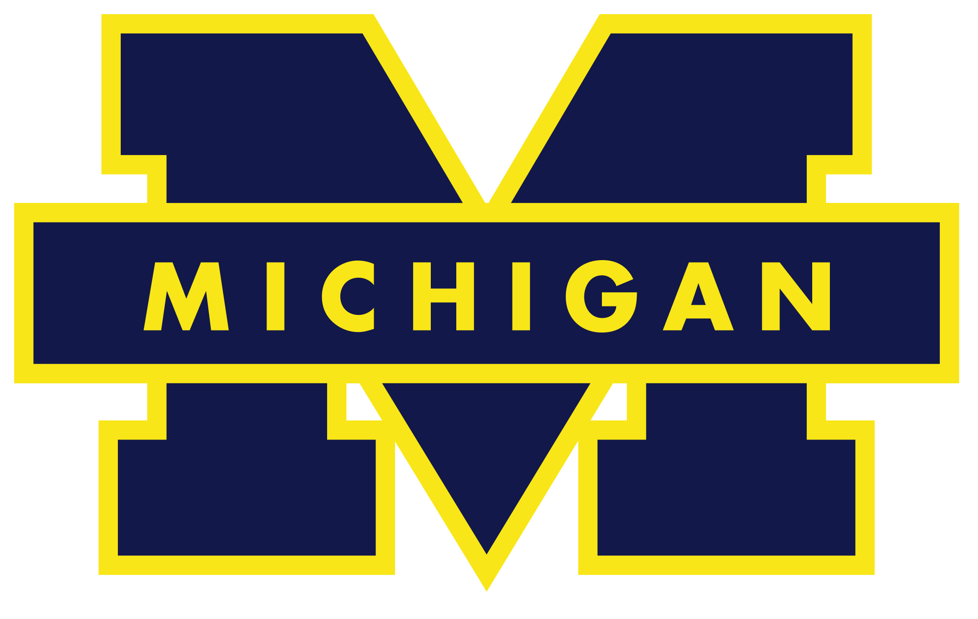 Michigan logo png. File wolverines svg wikimedia