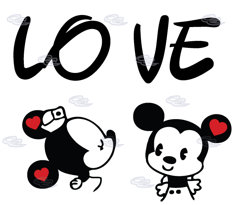 Mickey and minnie kissing png. Love image