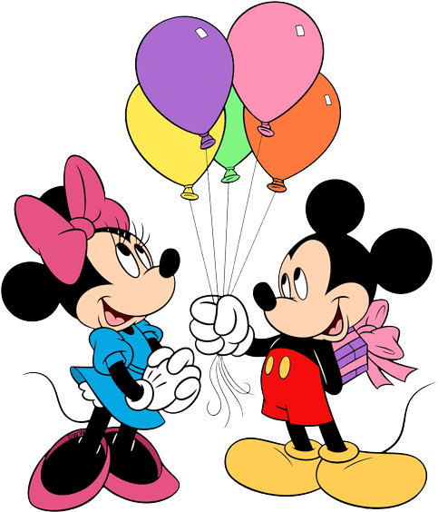 Mickey mouse balloons png. Download minnie balloon clip