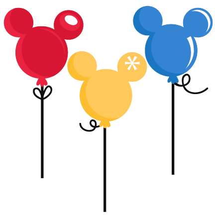 Mickey balloon png. Mouse balloons svg cut