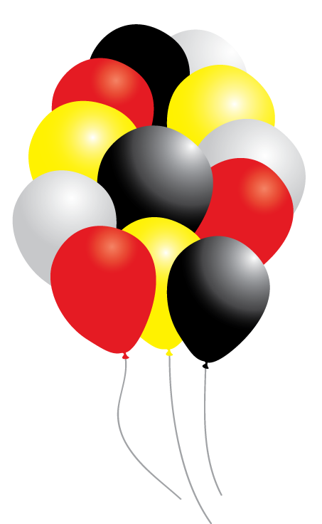 Mickey balloons png. Disney cars party pack