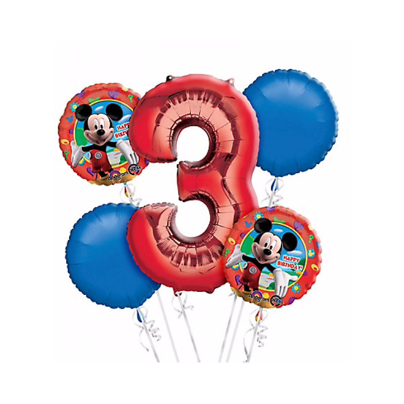 Mickey balloons png. Mouse rd birthday balloon