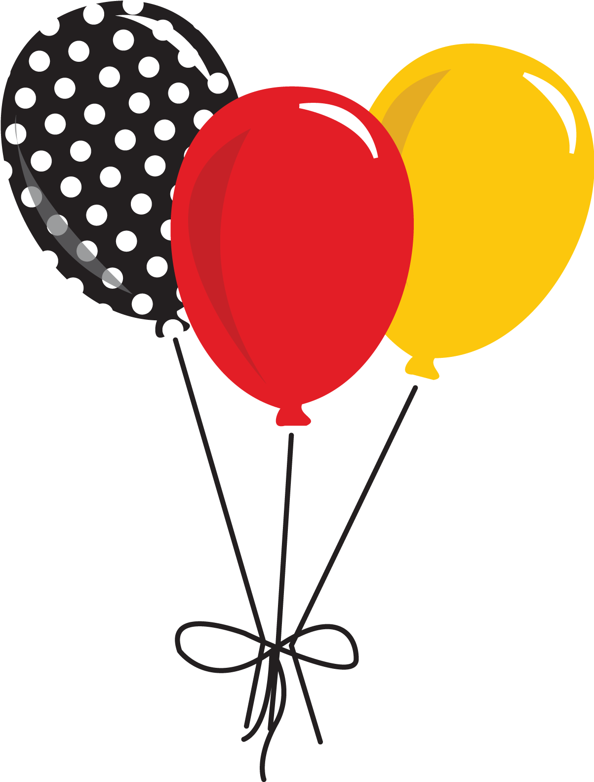 Mickey mouse balloons png. Download hd banner graphic
