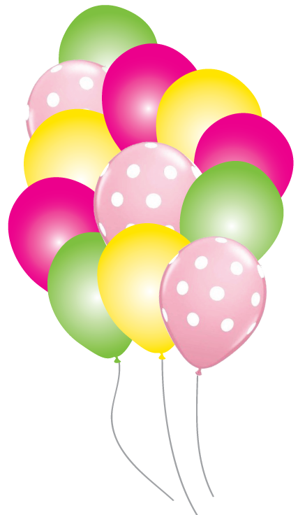 Mickey balloons png. Minnie mouse party pack