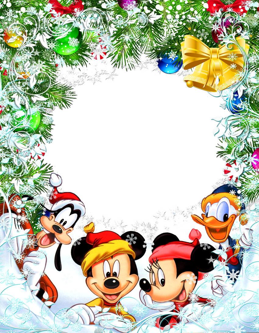 Mickey border png. Transparent christmas star frame