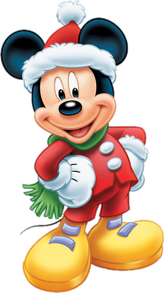Mickey christmas png. Element pinterest mouse minnie