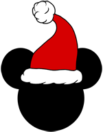 Mickey christmas png. Mouse ears icons disney