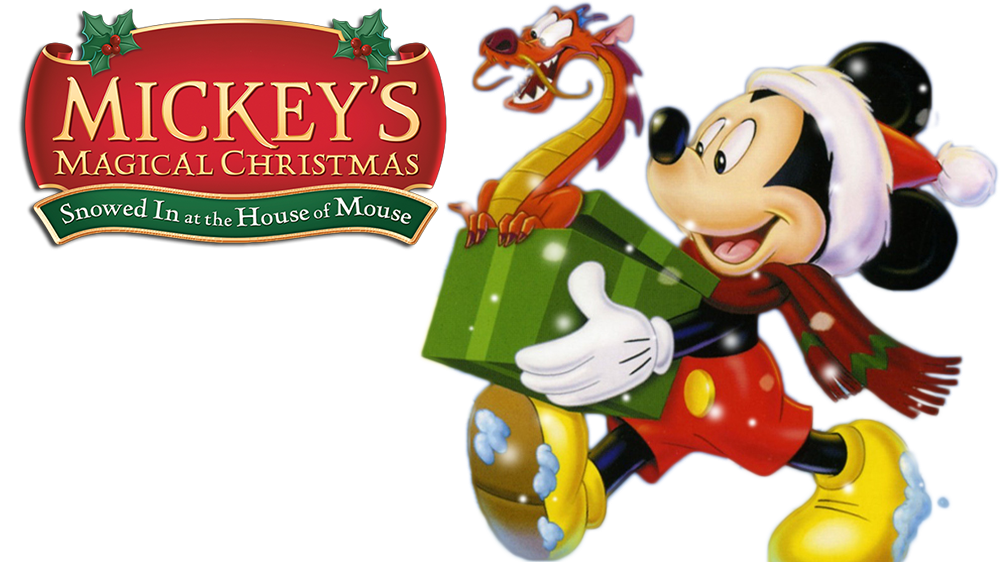 Mickey christmas png. S magical snowed in