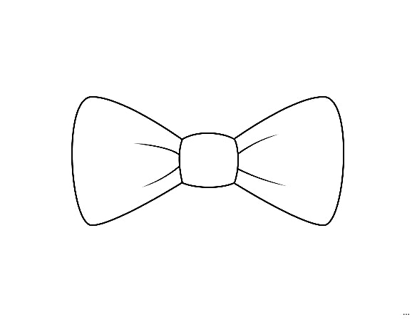 Bowtie clipart minnie mouse bow. Template for trace around