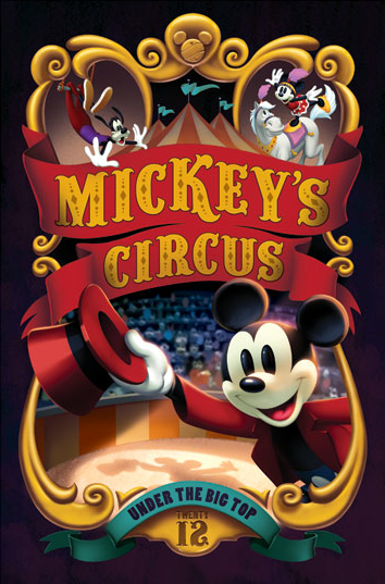 Mickey clipart circus. Disney trading event