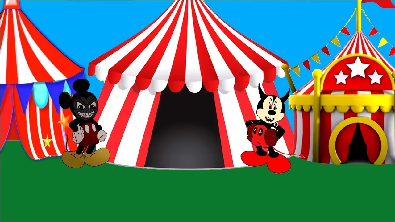 Mickey clipart circus. Mouse and friends clubhouse