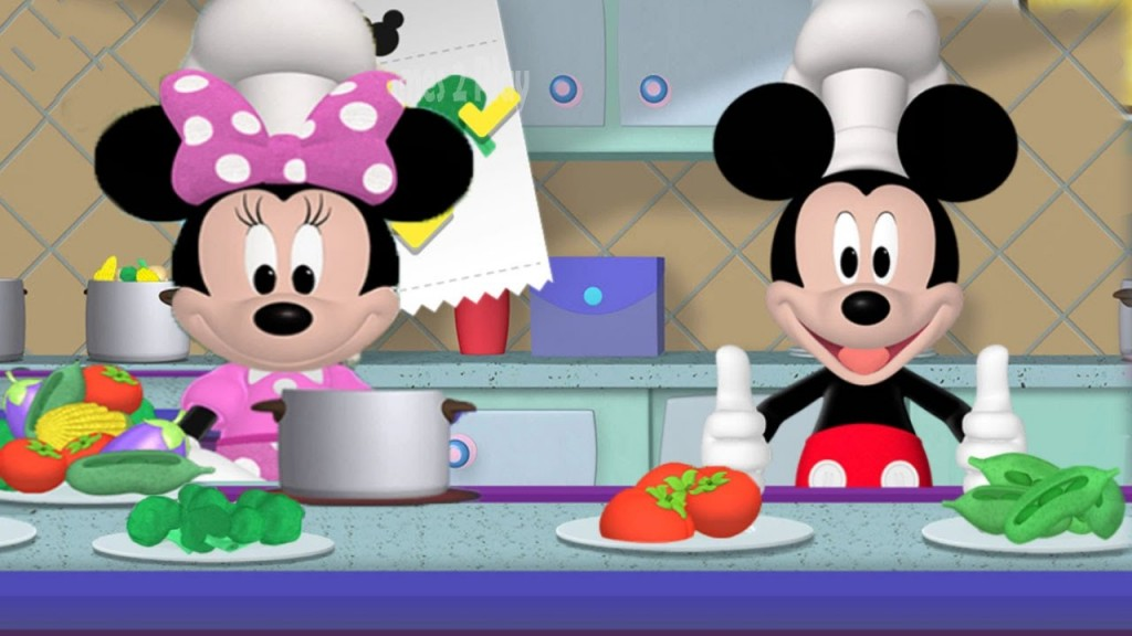 Mickey clipart fishing. Childrens play cooking with
