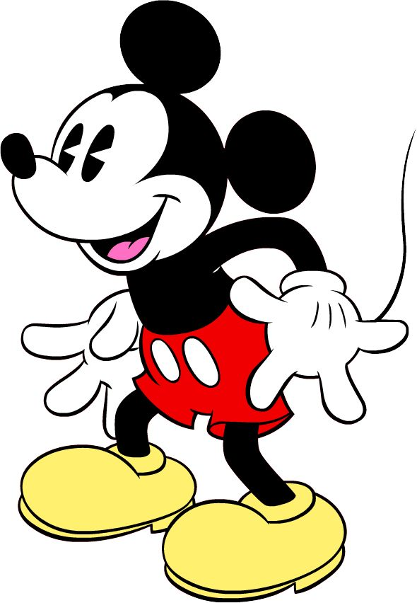 Mouse silhouette clip art. Mickey clipart vintage mickey png library