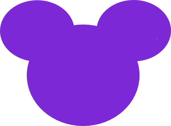 Mickey ears outline png. Mouse clip art at