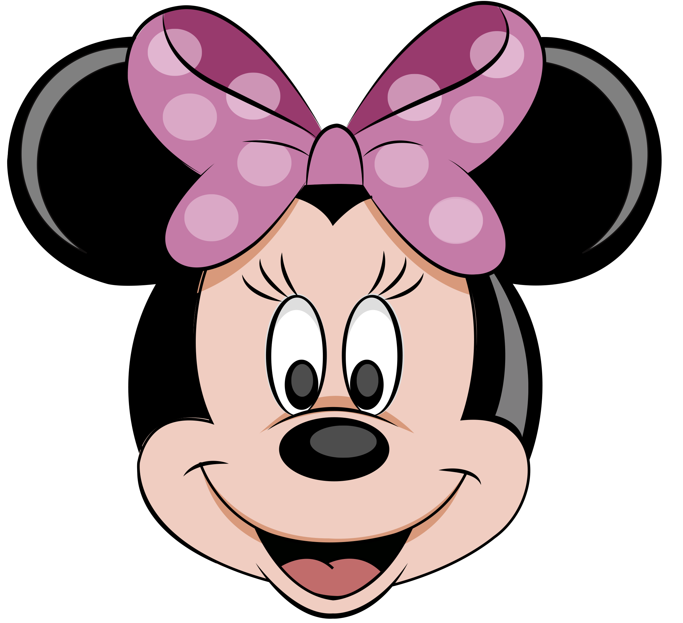 Mickey mouse and minnie mouse png. Head image purepng free