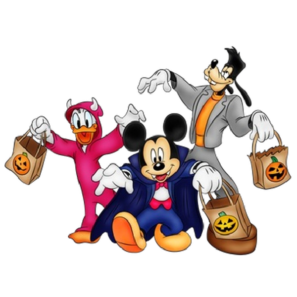 mickey halloween png