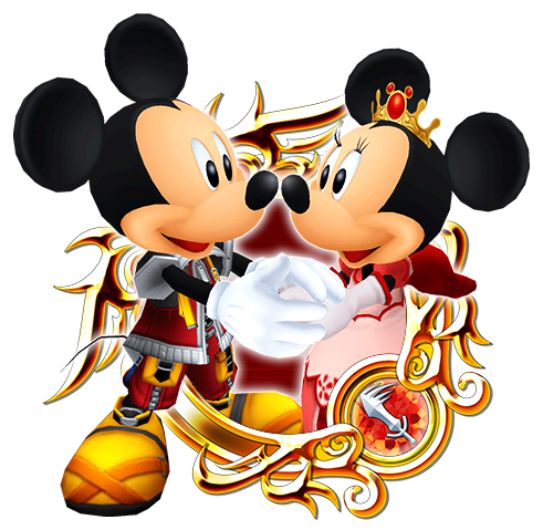 Mickey minnie png. Mouse kingdom hearts unchained