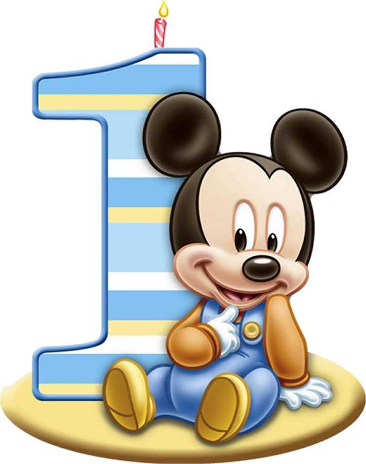 Mickey bebe png. Personalised a st birthday