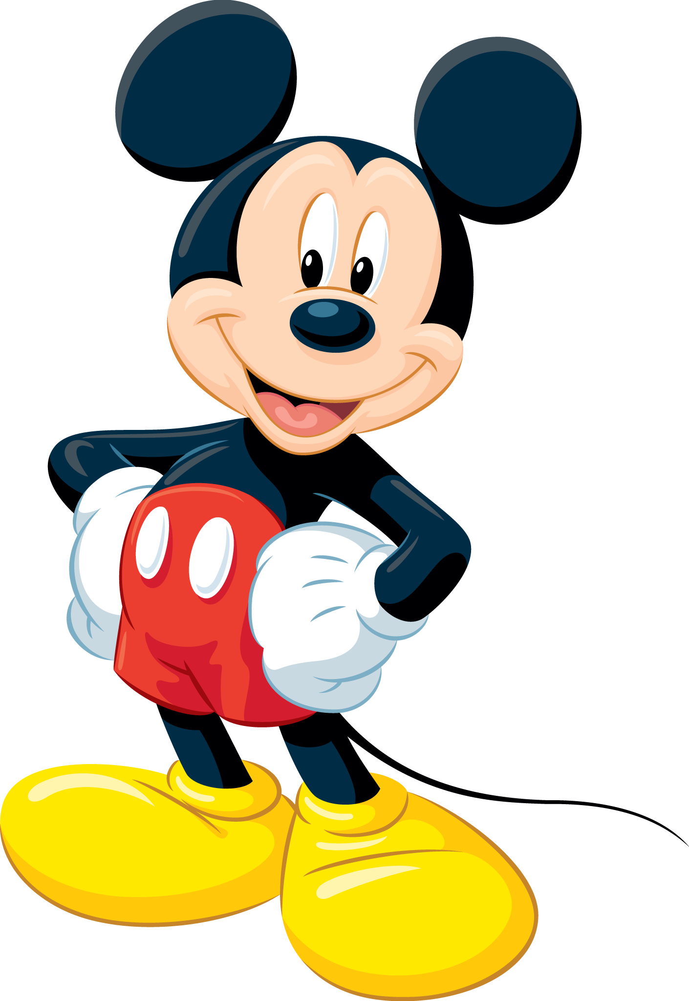 red mickey png