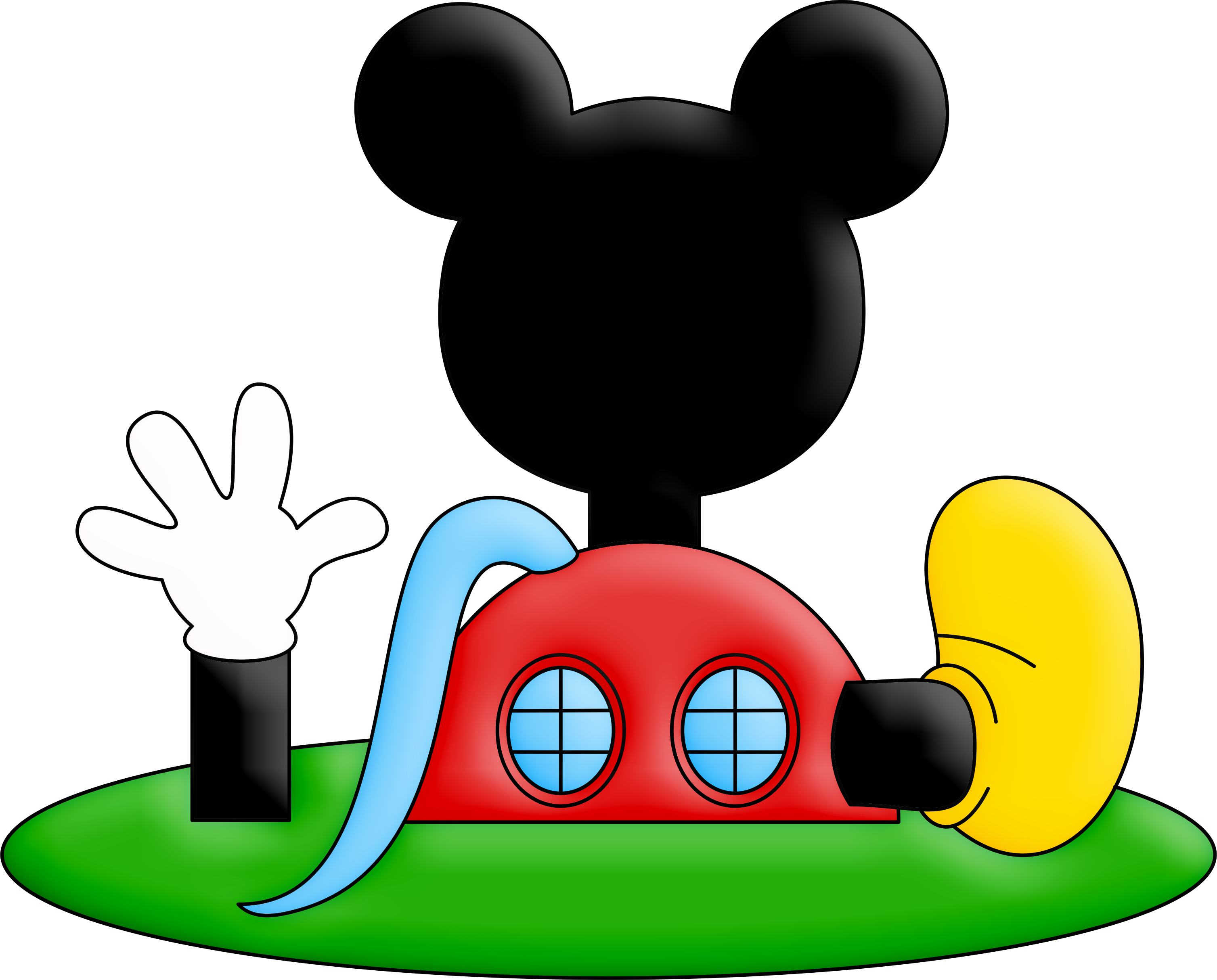 Mickey mouse 2 png. Casa do image