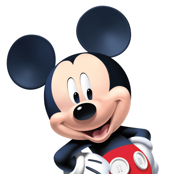 Mickey mouse 3d png. Shop disney wall decals