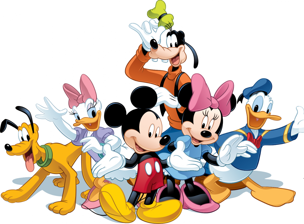 Mickey mouse characters png. Friends image purepng free