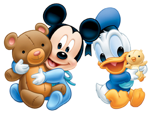 Mickey mouse baby png. And friends image