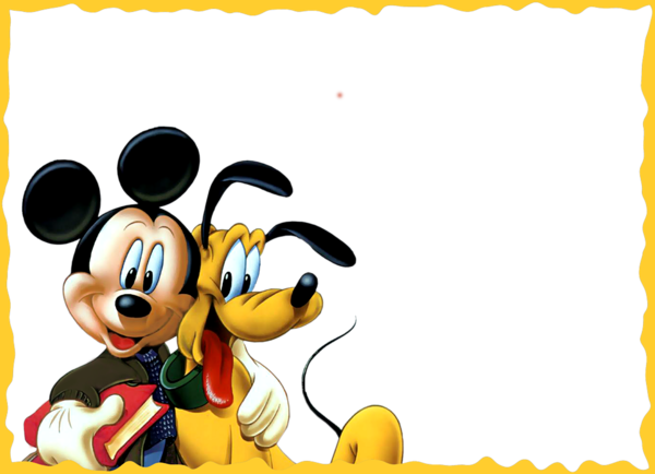 Mickey Mouse Frame Transparent Png Clipart Free Download Ya