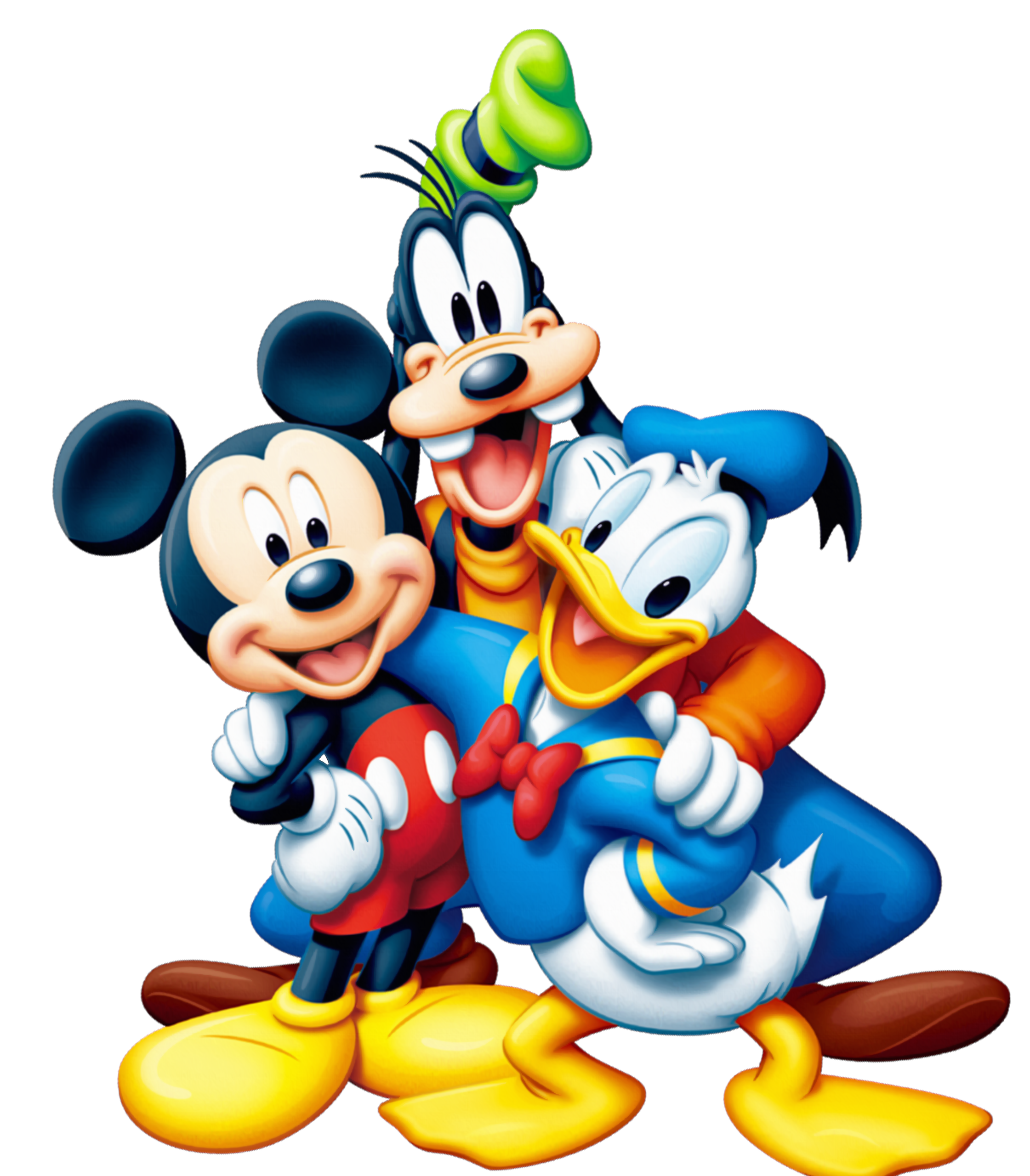 mickey and friends png