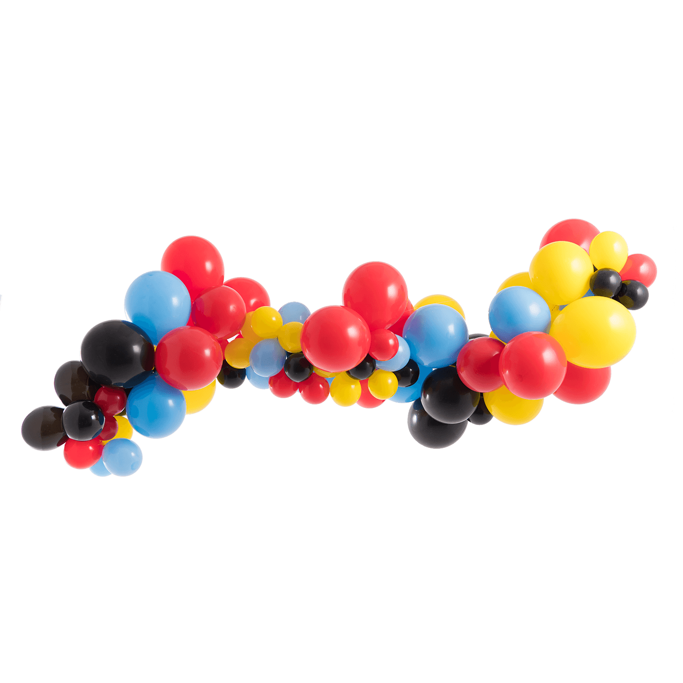 Mickey mouse balloons png. Balloon garland kit tether