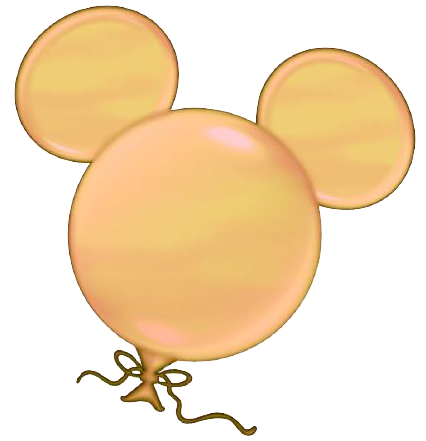 Mickey mouse balloons png. Disney clipart printables head