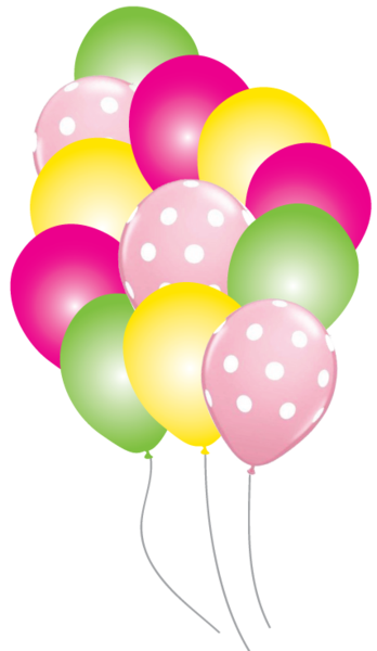 Mickey mouse balloons png. Minnie party pack just