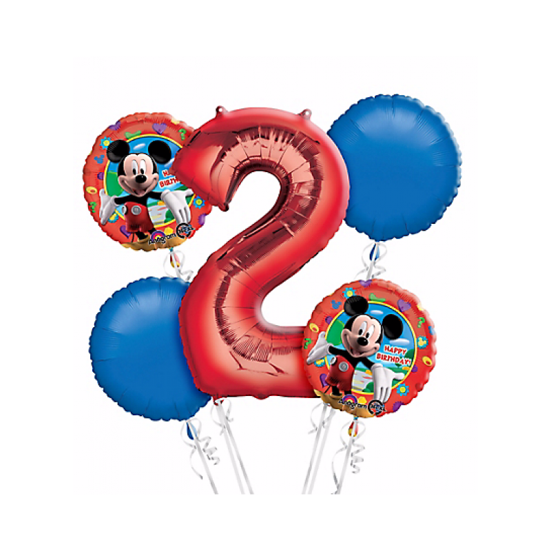 Mickey mouse balloons png. Nd birthday balloon bouquet