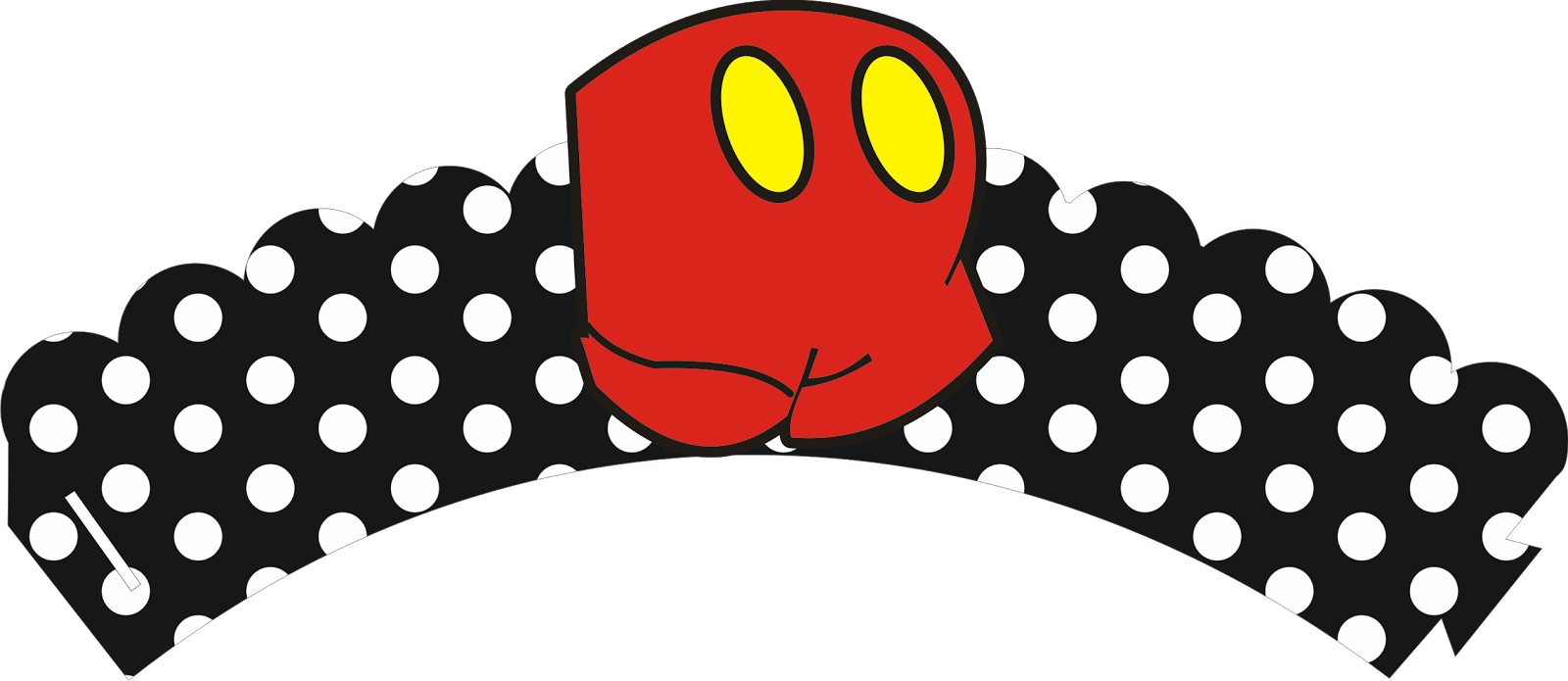 Mickey mouse banner png. Free printable minnie and