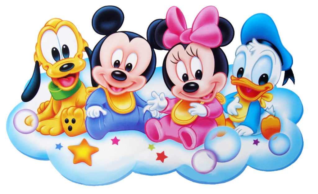 Mickey mouse bebe png. Baby minnie clipart panda