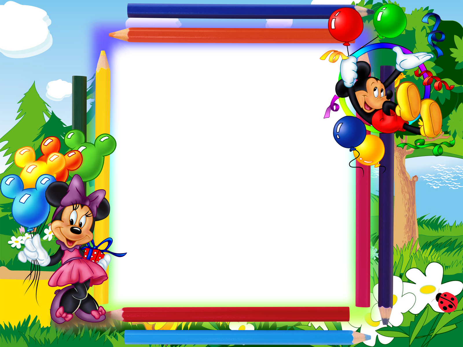 Mickey mouse border png. Frame wallpapers high quality